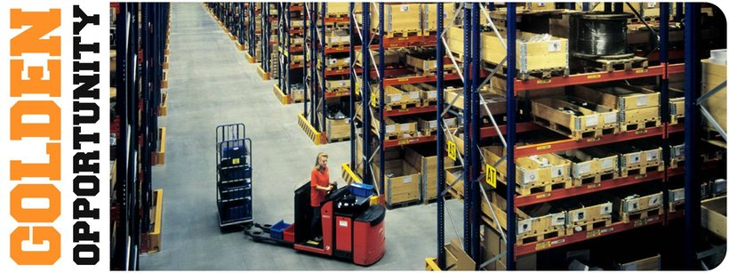 Warehouse workers – workplace United Kingdom